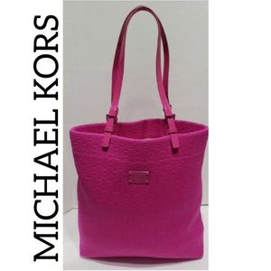 MK | HOT PINK tote purse